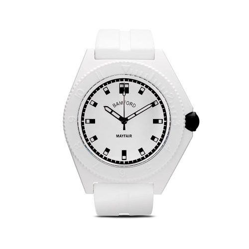 Mens Bamford Watch Department Mayfair Sport 40mm Watch in White