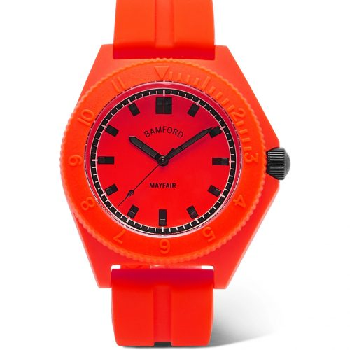 Mens Bamford Watch Department Mayfair Sport Watch in Red