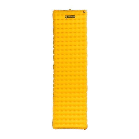 Mens NEMO Equipment Tensor Regular Camping Mat in Yellow