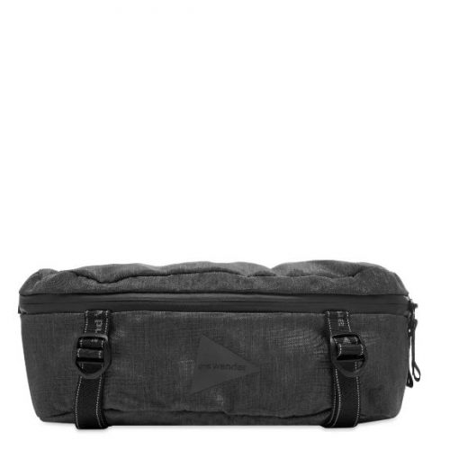 MensAnd Wander Heather Waist Bag in Charcoal