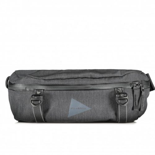 MensAnd Wander Waist Bag in Charcoal