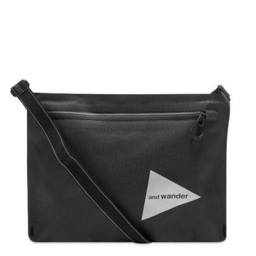 MensAnd Wander Waterproof Sacoche Bag in Black