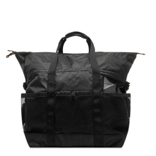 MensAnd Wander X-Pac 45L Tote Bag in All Black