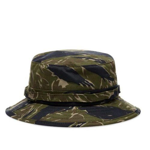 MensBeams Plus Bucket Hat in Jungle Camo Green